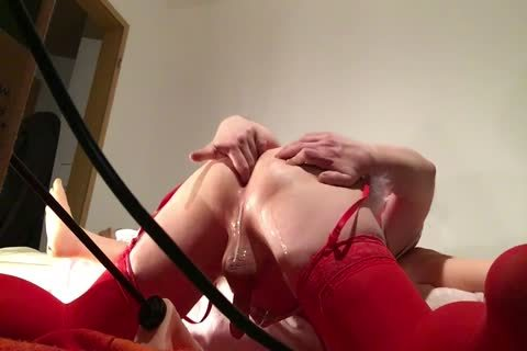Sissy shemale acquires Her ass banged By Machine ass Marathon