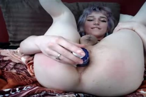 shemale Dildos ass On web camera